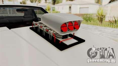 Ford Mustang 1991 Monster Truck для GTA San Andreas вид сзади