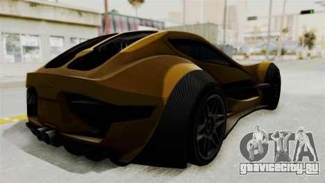 Felino CB7 для GTA San Andreas вид слева