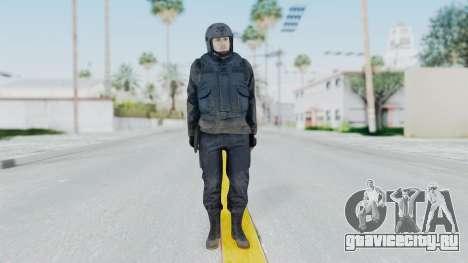 MGSV Phantom Pain Zero Risk Vest v2 для GTA San Andreas второй скриншот