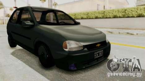 Chevrolet Corsa для GTA San Andreas вид справа