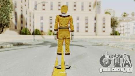 Power Ranger Zeo - Yellow для GTA San Andreas третий скриншот