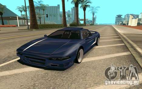 Infernus BlueRay V12 для GTA San Andreas