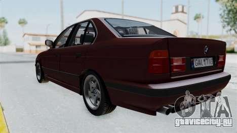 BMW 525i E34 1994 LT Plate для GTA San Andreas вид справа