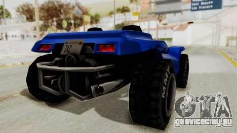BF Buggy для GTA San Andreas вид справа