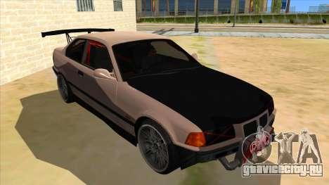BMW M3 Drift Missile для GTA San Andreas вид сзади