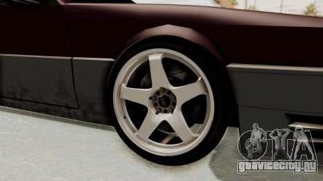 Blista CRX для GTA San Andreas вид сзади