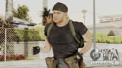 MGSV Phantom Pain RC Soldier T-shirt v1 для GTA San Andreas