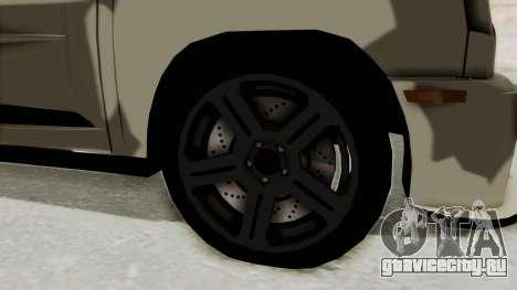 Renault Turbo-S для GTA San Andreas вид сзади