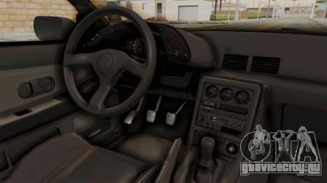 Nissan Skyline R32 4 Door для GTA San Andreas вид изнутри