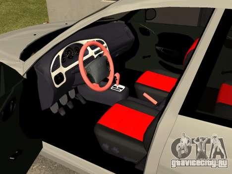 Daewoo Lanos (Sens) 2004 v2.0 by Greedy для GTA San Andreas вид сбоку
