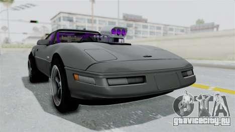Chevrolet Corvette C4 Drag для GTA San Andreas вид справа