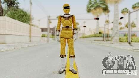 Power Ranger Zeo - Yellow для GTA San Andreas второй скриншот