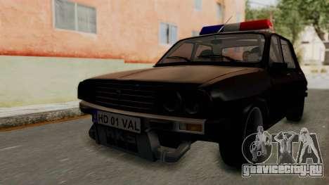 Dacia 1310 TX Turbo Police для GTA San Andreas