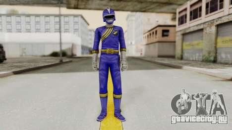 Power Rangers Wild Force - Blue для GTA San Andreas второй скриншот