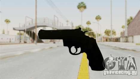 Colt .357 Black для GTA San Andreas второй скриншот