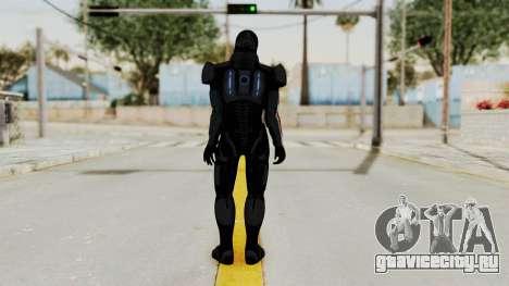 ME2 Shepard Default N7 Armor with Death Mask для GTA San Andreas третий скриншот