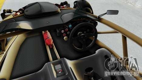 Ariel Atom 500 V8 для GTA San Andreas вид изнутри