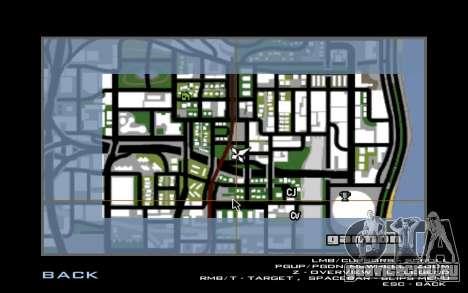 Maserati Wall Grafiti для GTA San Andreas второй скриншот