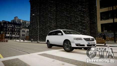 Volkswagen Passat Variant 2010 V1 для GTA 4 вид изнутри
