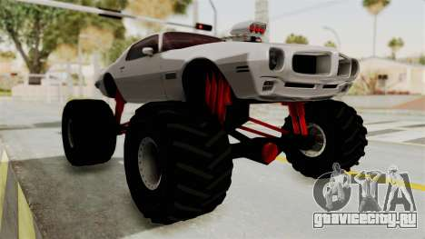 Pontiac Firebird 1970 Monster Truck для GTA San Andreas