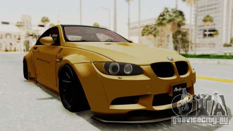BMW M3 E92 Liberty Walk для GTA San Andreas