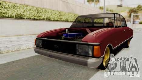 Ford Falcon Sprint для GTA San Andreas вид сзади слева