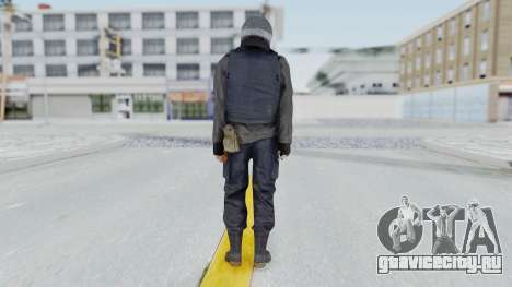 MGSV Phantom Pain Zero Risk Vest v2 для GTA San Andreas третий скриншот