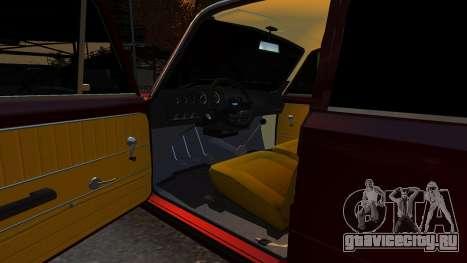 VAZ 21011 Style для GTA 4 вид изнутри
