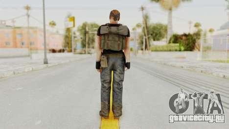 MGSV Phantom Pain RC Soldier T-shirt v1 для GTA San Andreas третий скриншот