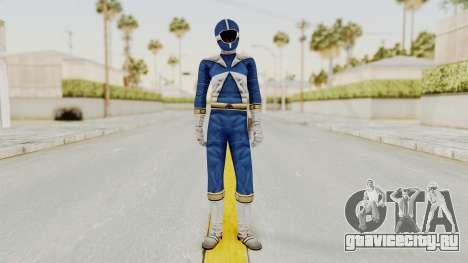 Power Rangers Lightspeed Rescue - Blue для GTA San Andreas второй скриншот