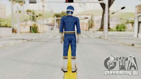 Power Rangers Lightspeed Rescue - Blue для GTA San Andreas третий скриншот