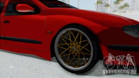 Renault Megane для GTA San Andreas вид сзади
