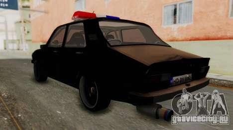 Dacia 1310 TX Turbo Police для GTA San Andreas вид слева
