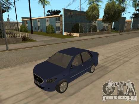Datsun on-DO для GTA San Andreas вид слева