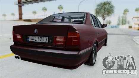 BMW 525i E34 1994 LT Plate для GTA San Andreas вид слева