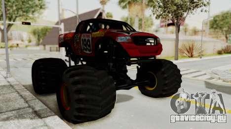 Pastrana 199 Monster Truck для GTA San Andreas