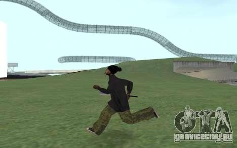 Новый Ballas 3 для GTA San Andreas третий скриншот
