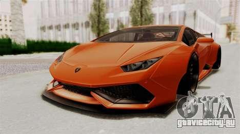 Lamborghini Huracan Libertywalk Kato Design для GTA San Andreas