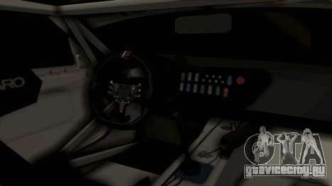 BMW Z4 GT3 Tobisawa Misaki для GTA San Andreas вид изнутри