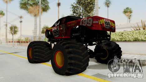 Pastrana 199 Monster Truck для GTA San Andreas вид слева