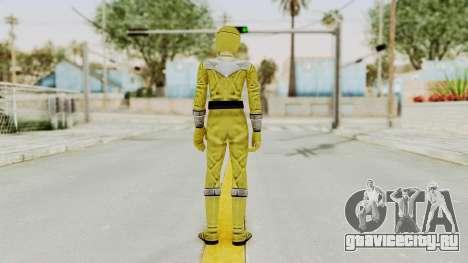 Power Rangers Time Force - Yellow для GTA San Andreas третий скриншот