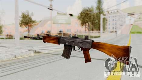 IOFB INSAS Detailed Orange Skin для GTA San Andreas второй скриншот