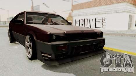 Blista CRX для GTA San Andreas вид справа