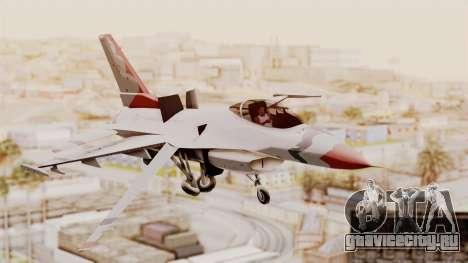 General Dynamics F-16A USAF Thunderbirds для GTA San Andreas