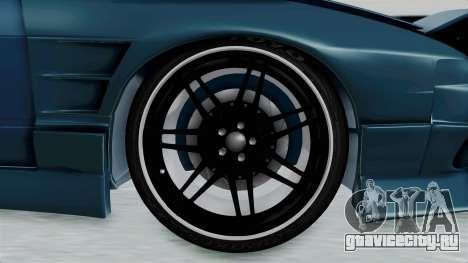 Nissan 180SX BETA для GTA San Andreas вид сзади