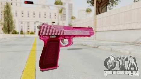 GTA 5 Pistol .50 Pink для GTA San Andreas третий скриншот