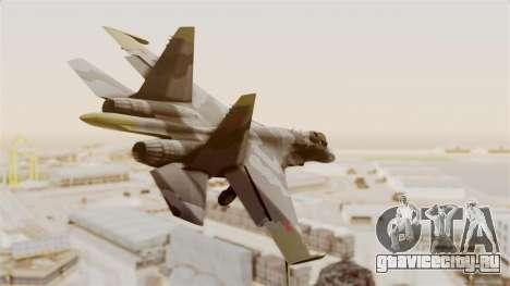 SU-27 Hydra для GTA San Andreas вид справа