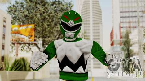 Power Rangers Lost Galaxy - Green для GTA San Andreas