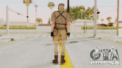 MGSV Phantom Pain CFA Combat Vest 1 v2 для GTA San Andreas третий скриншот