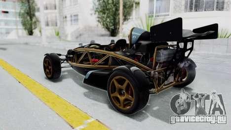Ariel Atom 500 V8 для GTA San Andreas вид слева